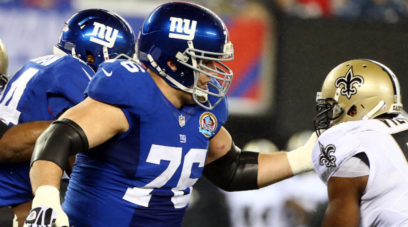 Chris Snee is a four-time Pro Bowler.