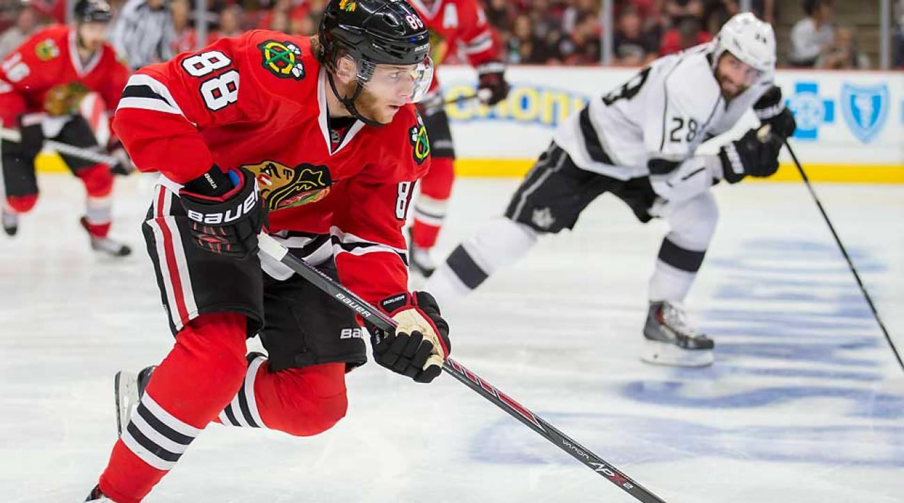 Patrick Kane and the Blackhawks will appear on NBC and NBCSN next season a combined 20 times, more than any other NHL team.