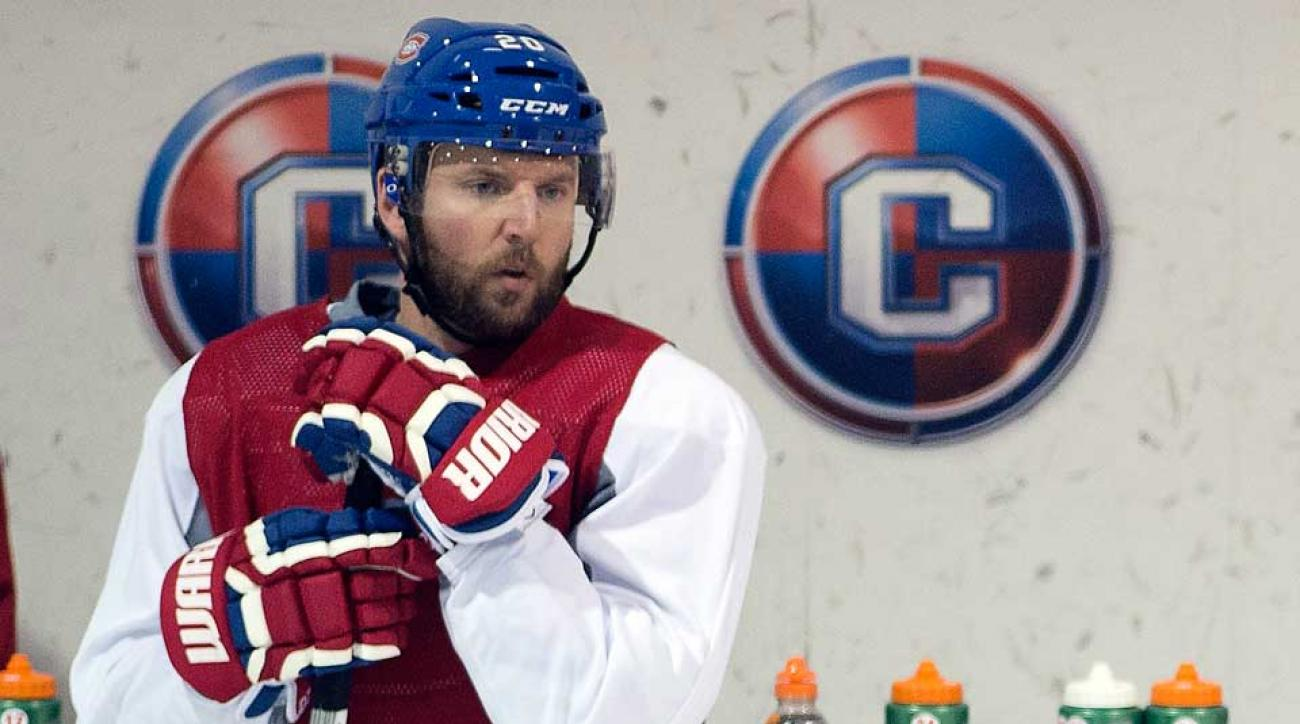 Wild forward Thomas Vanek, who finished last season with the Canadiens, was in federal court on Monday in Rochester, N.Y.