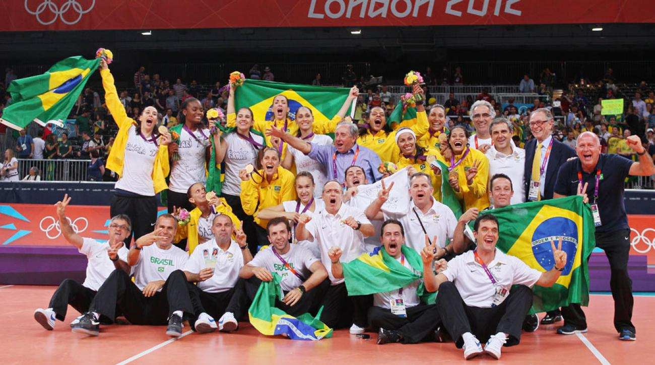Women's volleyball was one of the 17 medals that Brazil won in 2012.