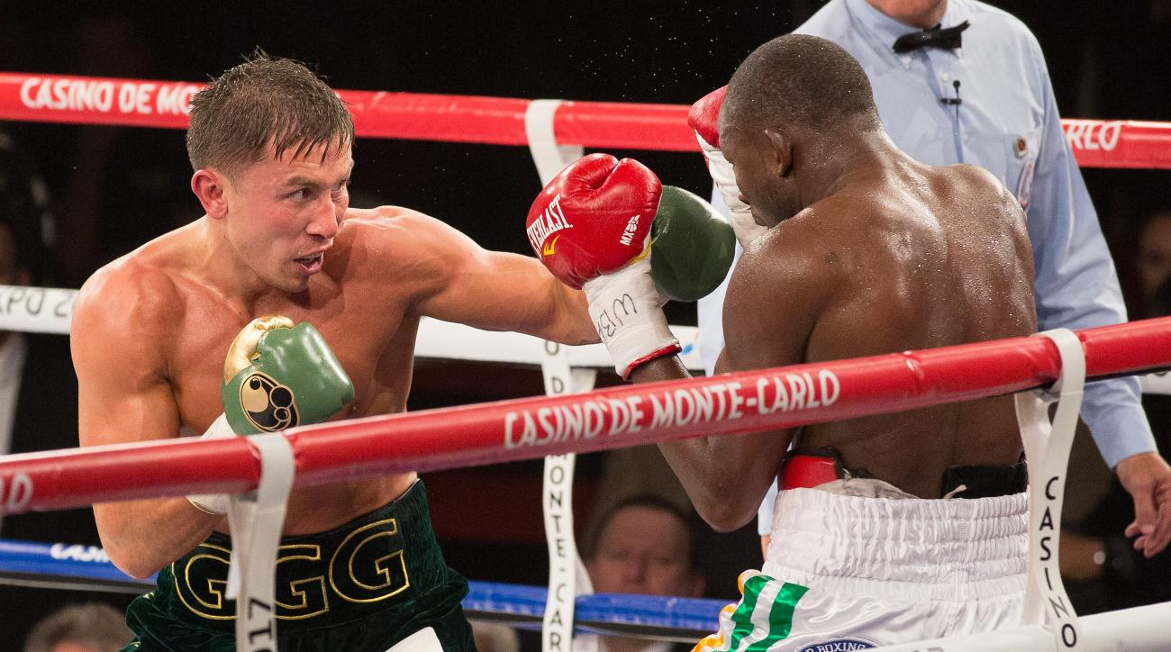 Gennady Golovkin, left, will put his 29-0 record on the line Saturday at Madison Square Garden.