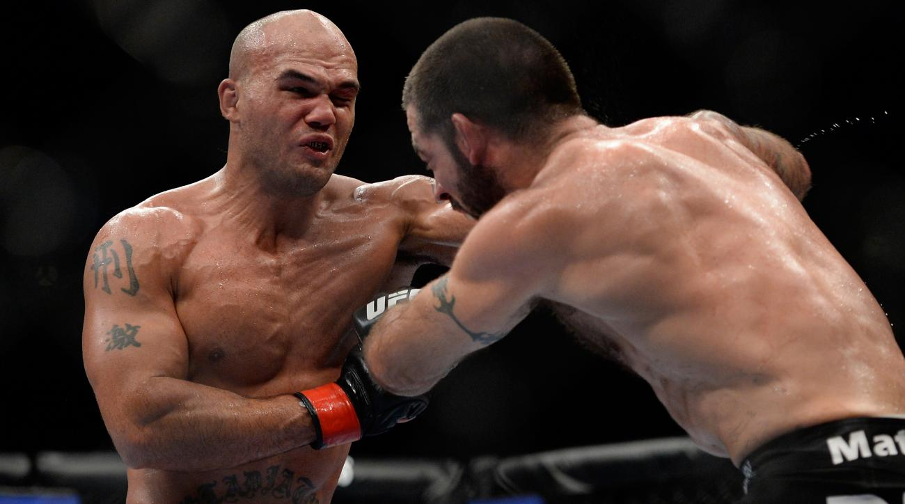 Robbie Lawler (left) has won five of six fights in his return to the UFC.
