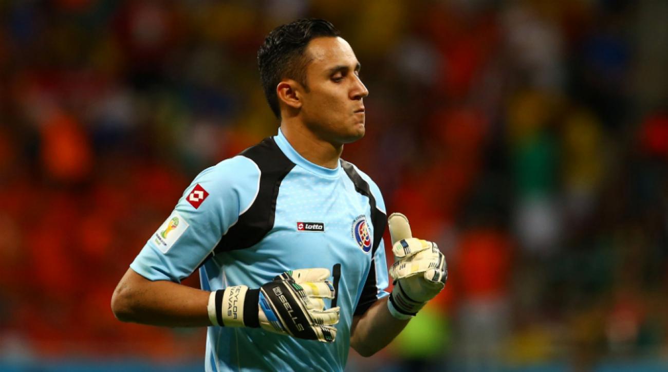 Costa Rica goalkeeper Keylor Navas