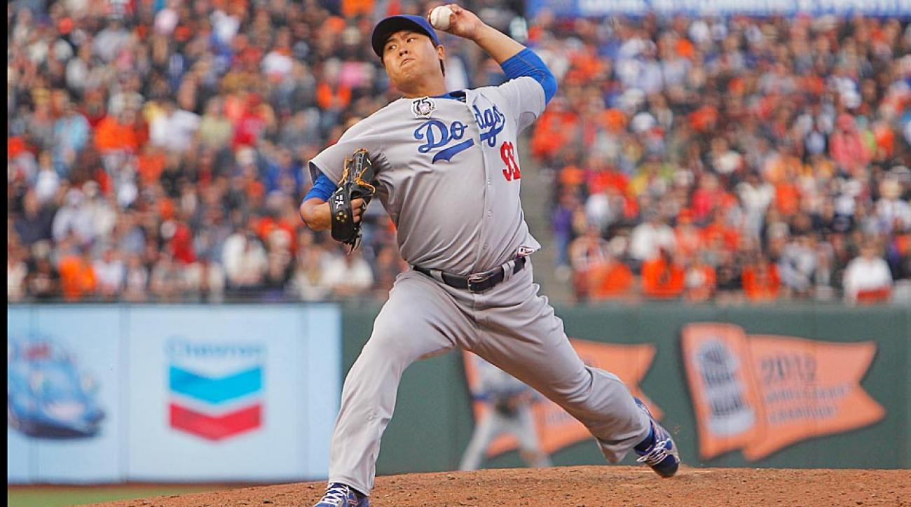 The Dodgers' Hyun-jin Ryu has only allowed five runs in his past 19 innings. Expect that command to continue Saturday at home vs. the Cubs.