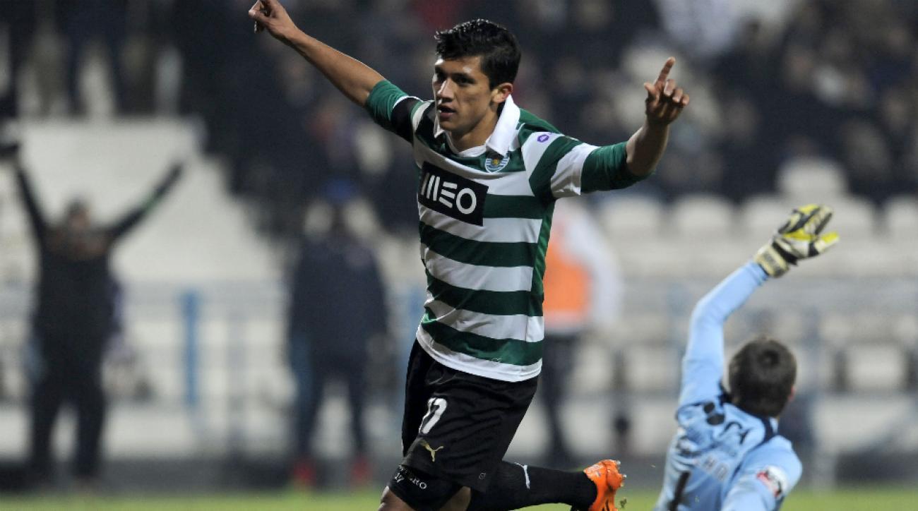 Sporting Lisbon forward Fredy Montero