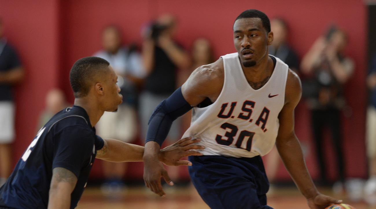 Wizards guard John Wall was in the first wave of players cut by Team USA, along with Bradley Beal and Paul Millsap.