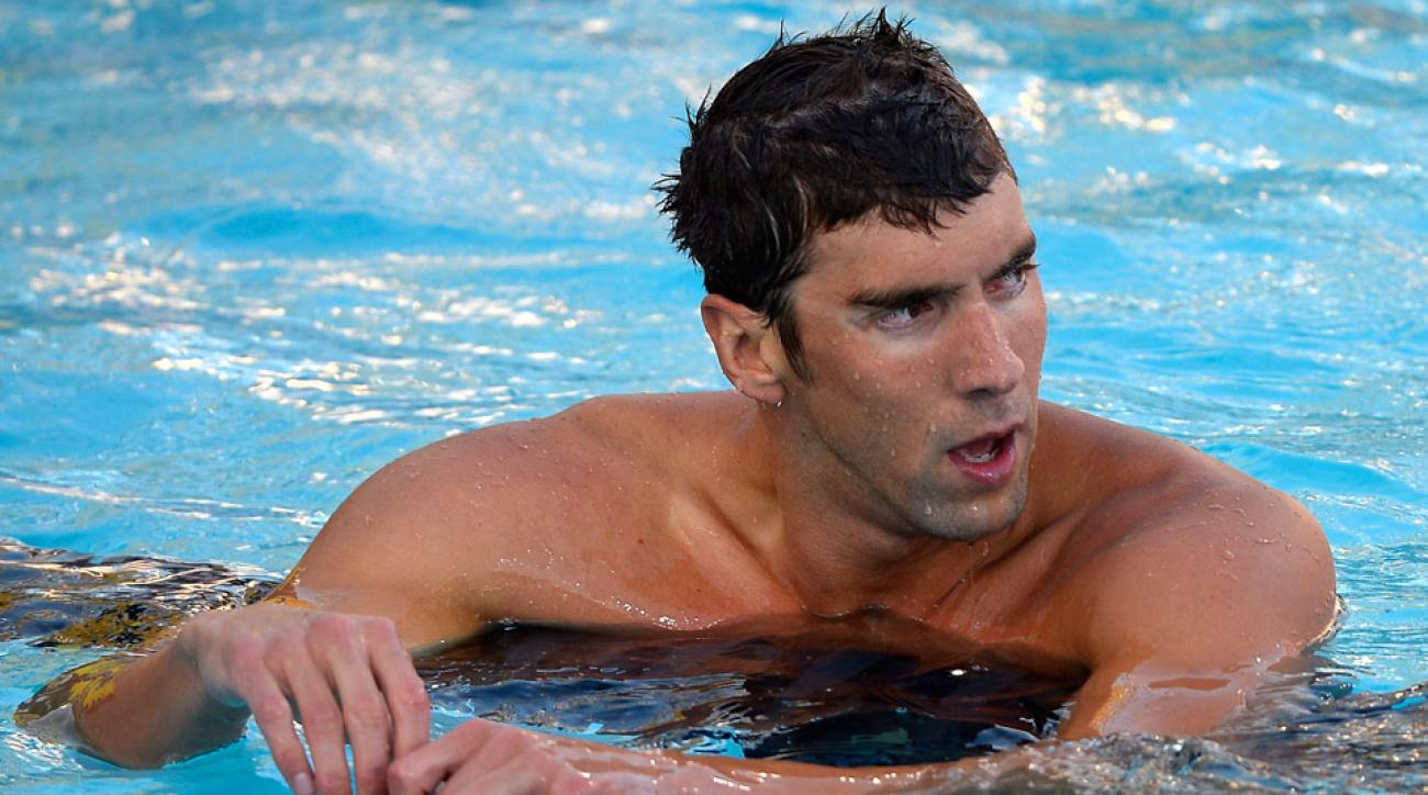 Michael Phelps fell into seventh place in his first U.S. championships final since his return to swimming