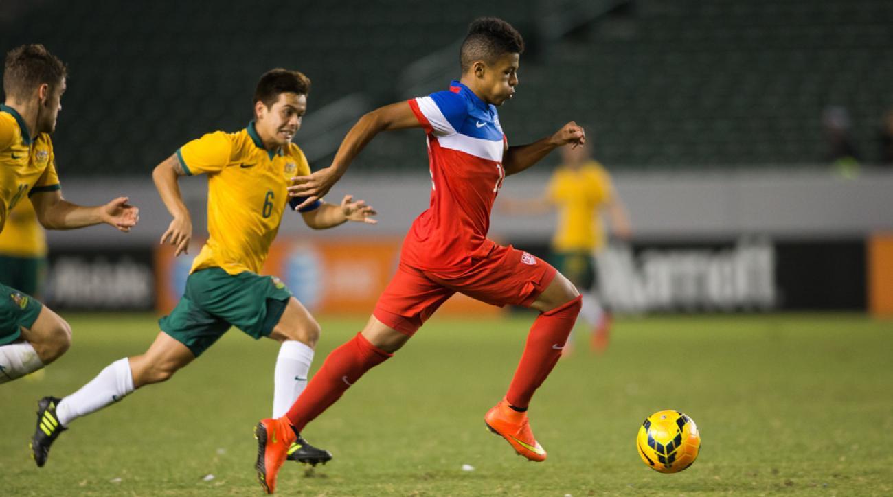 U.S. Under-20 midfielder Romain Gall has signed with the Columbus Crew.