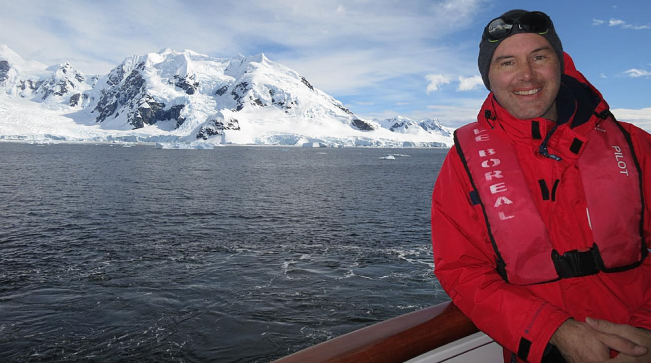 Since first coming to SI in 1988, Steve Rushin has traveled all over the world, including a trip to Antarctica in 2012.