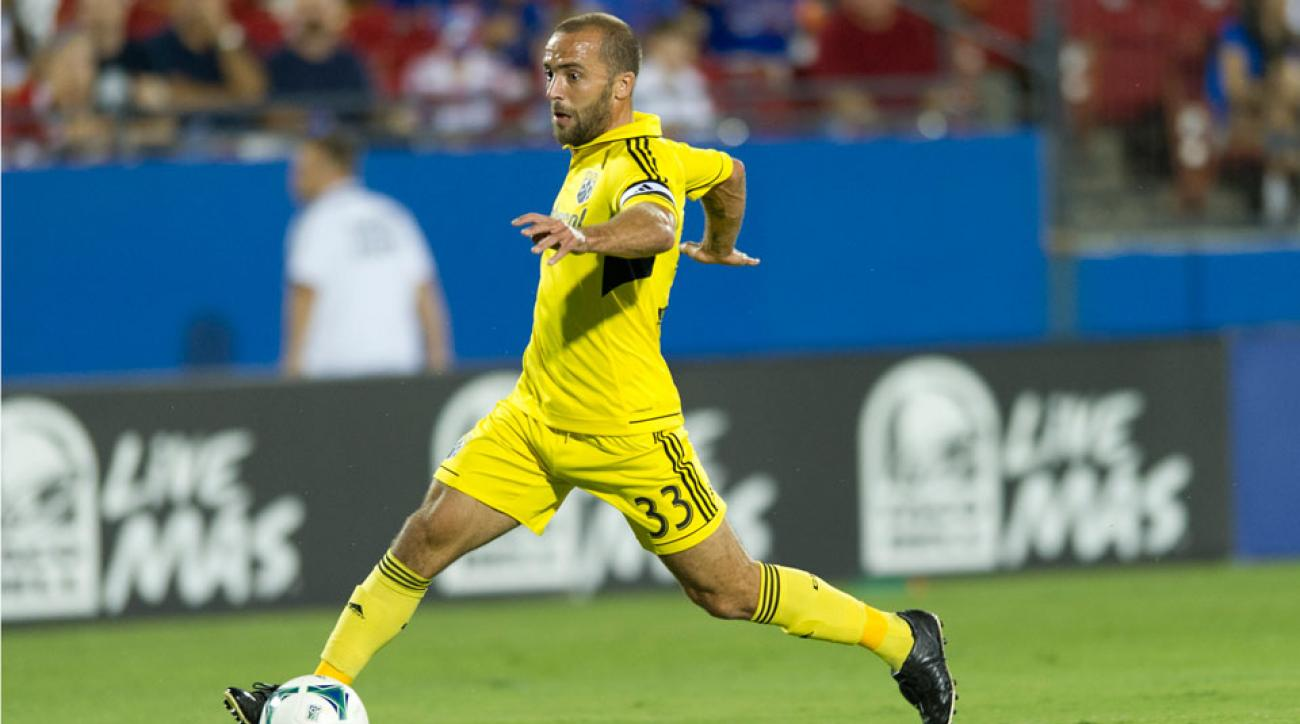 Federico Higuain leads the Crew in goals and assists