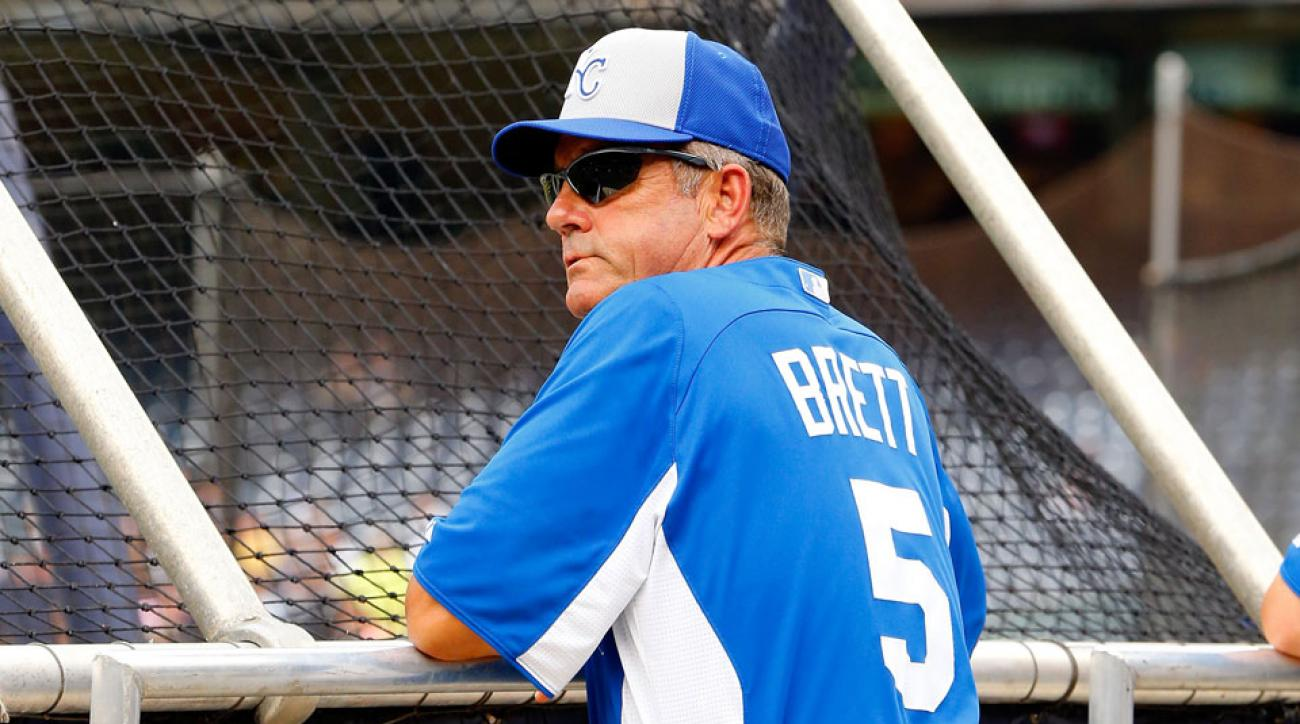 George Brett served as Royals hitting coach for eight weeks in 2013