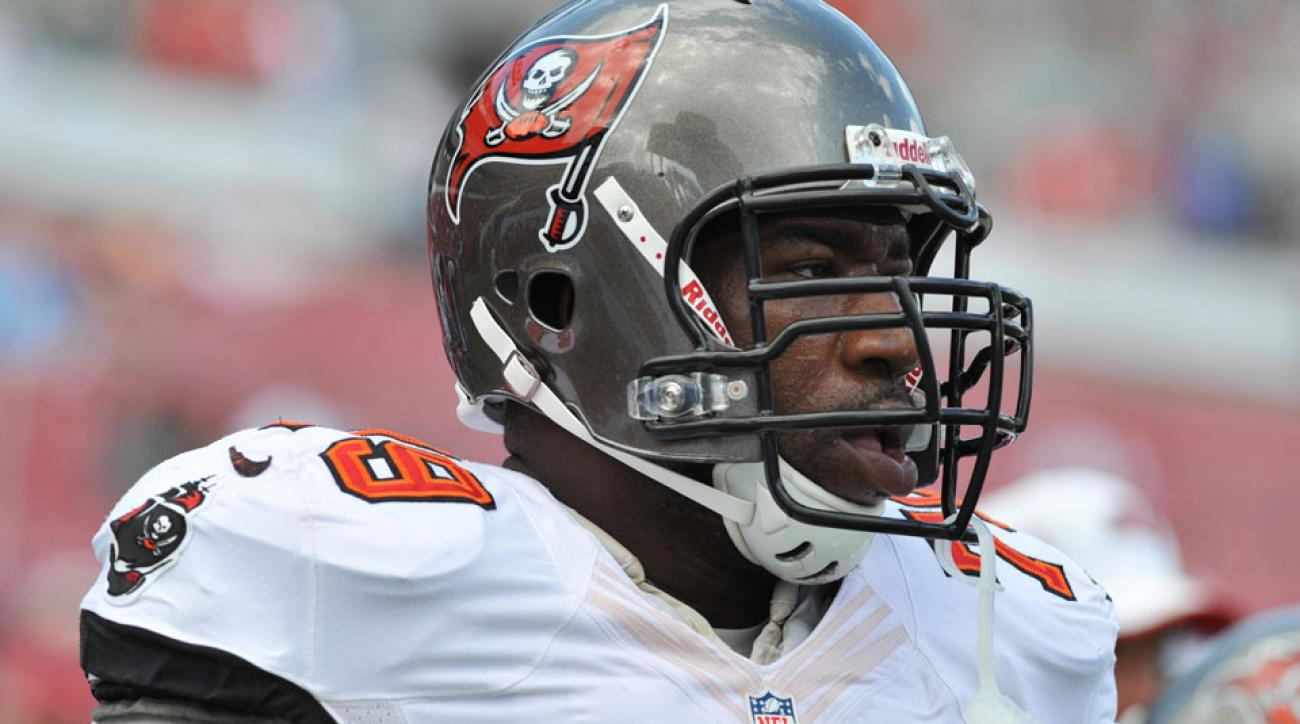 Buccaneers Jamon Meredith not starting