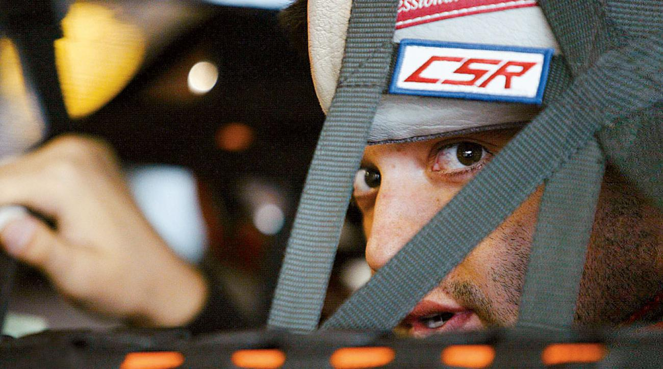 At 31, Tony Stewart was en route to his first NASCAR title in 2002, but he had already developed a reputation for being a hot head.