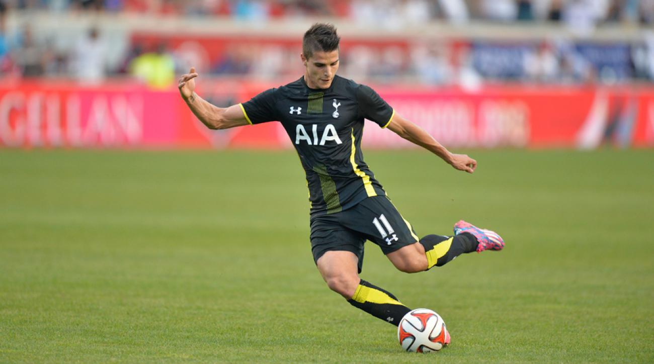 Can Argentine Erik Lamela make strides at Tottenham in his second Premier League season?