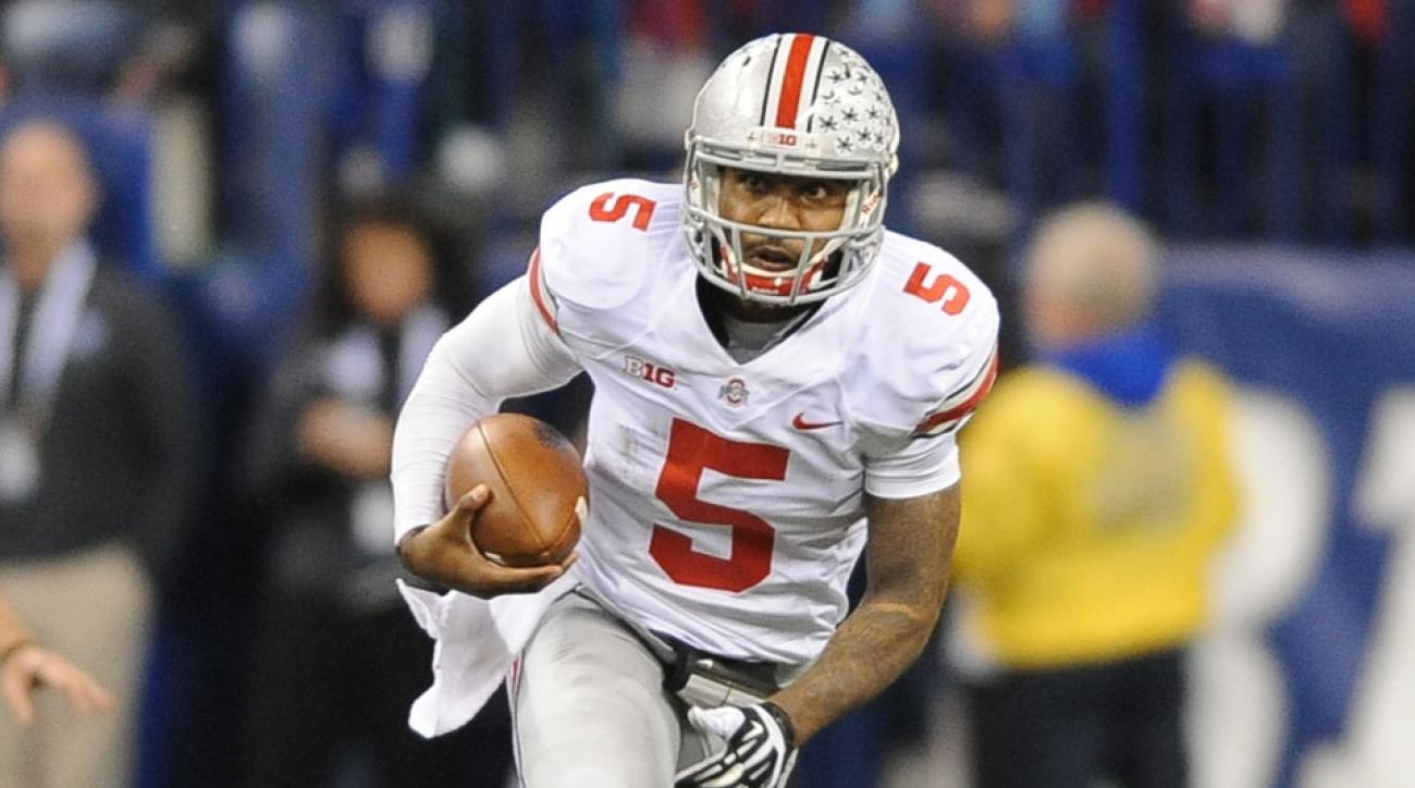 The loss of Braxton Miller for the season has hurt the Buckeyes' 2014 national title odds