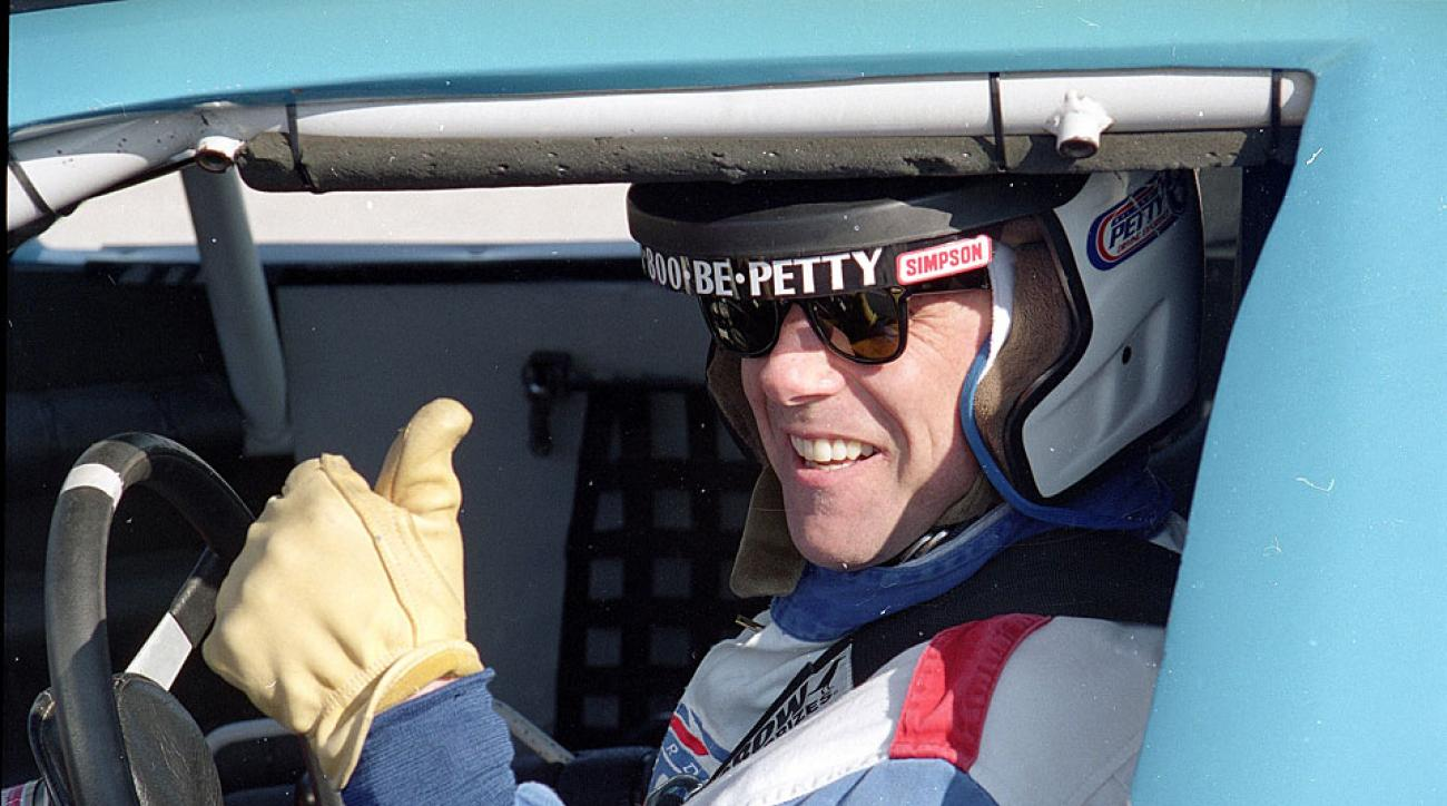 Jeff MacGregor later chose to do less dangerous reporting, like the time he hopped in a stock car in 2005.