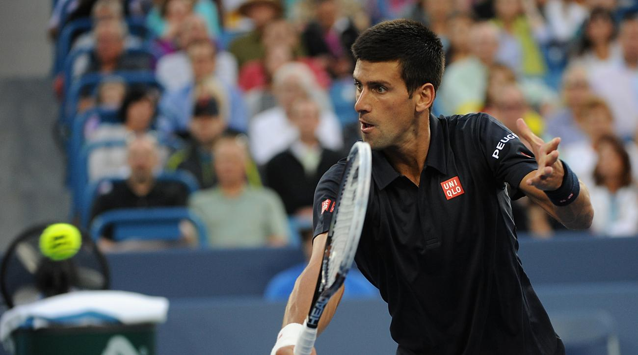Novak Djokovic was named the top seed in the 2014 U.S. Open men's draw.
