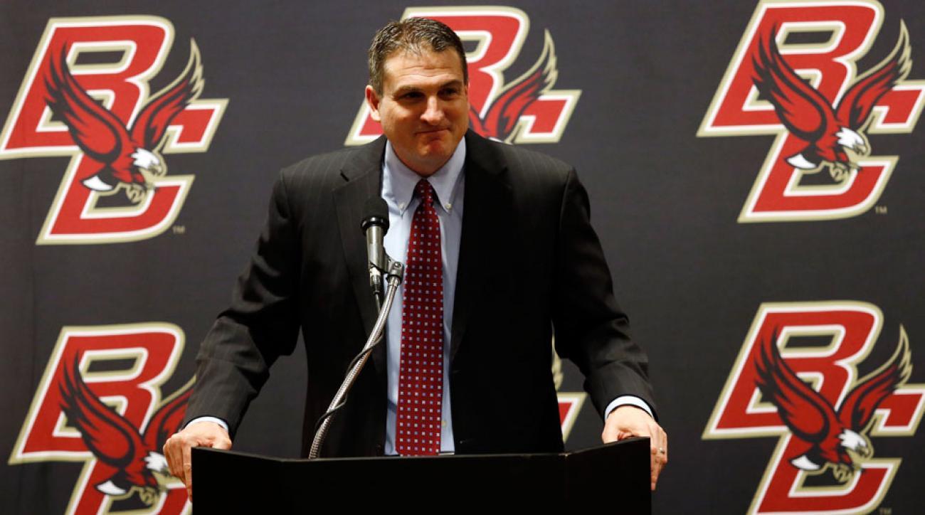 Jim Christian is entering his first season as the Eagles' head coach