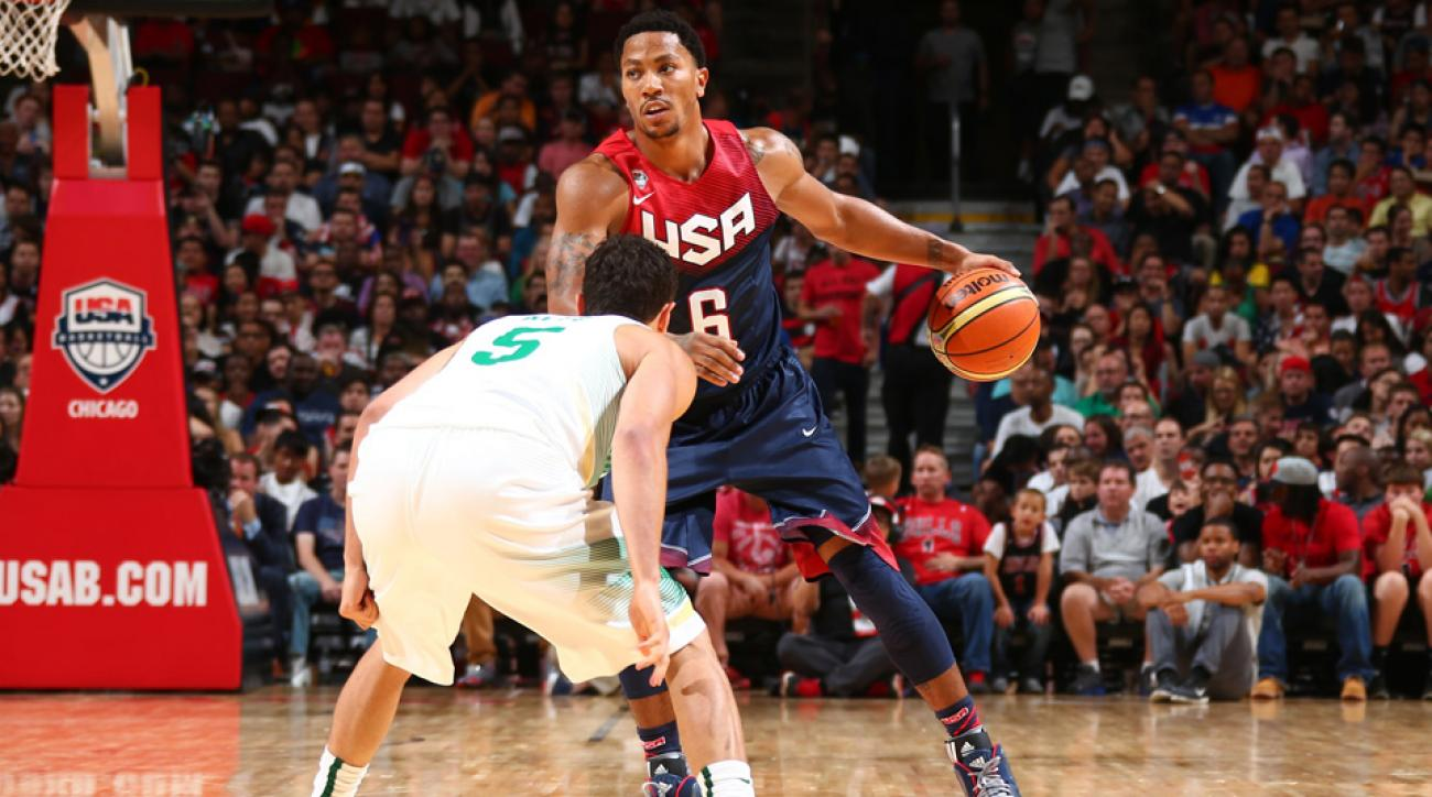 Derrick Rose, Team USA