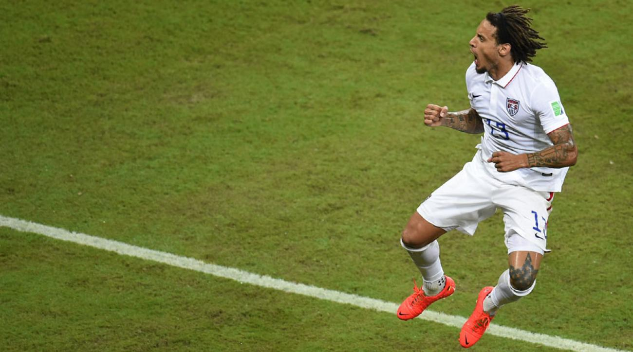 Jermaine Jones, who has played his entire career in Europe, was one of the United States' top performers at the 2014 World Cup.