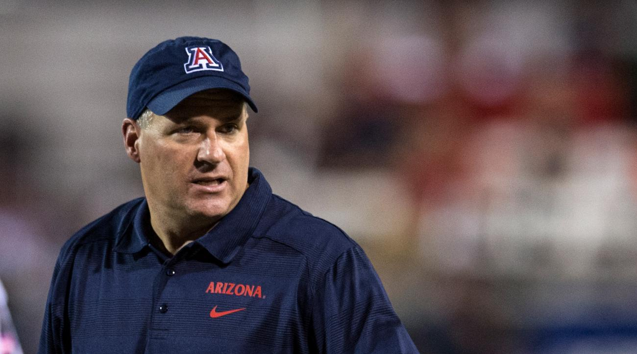 Head coach Rich Rodriguez said the decision to start Anu Solomon on Friday doesn't mean he will play the whole game.