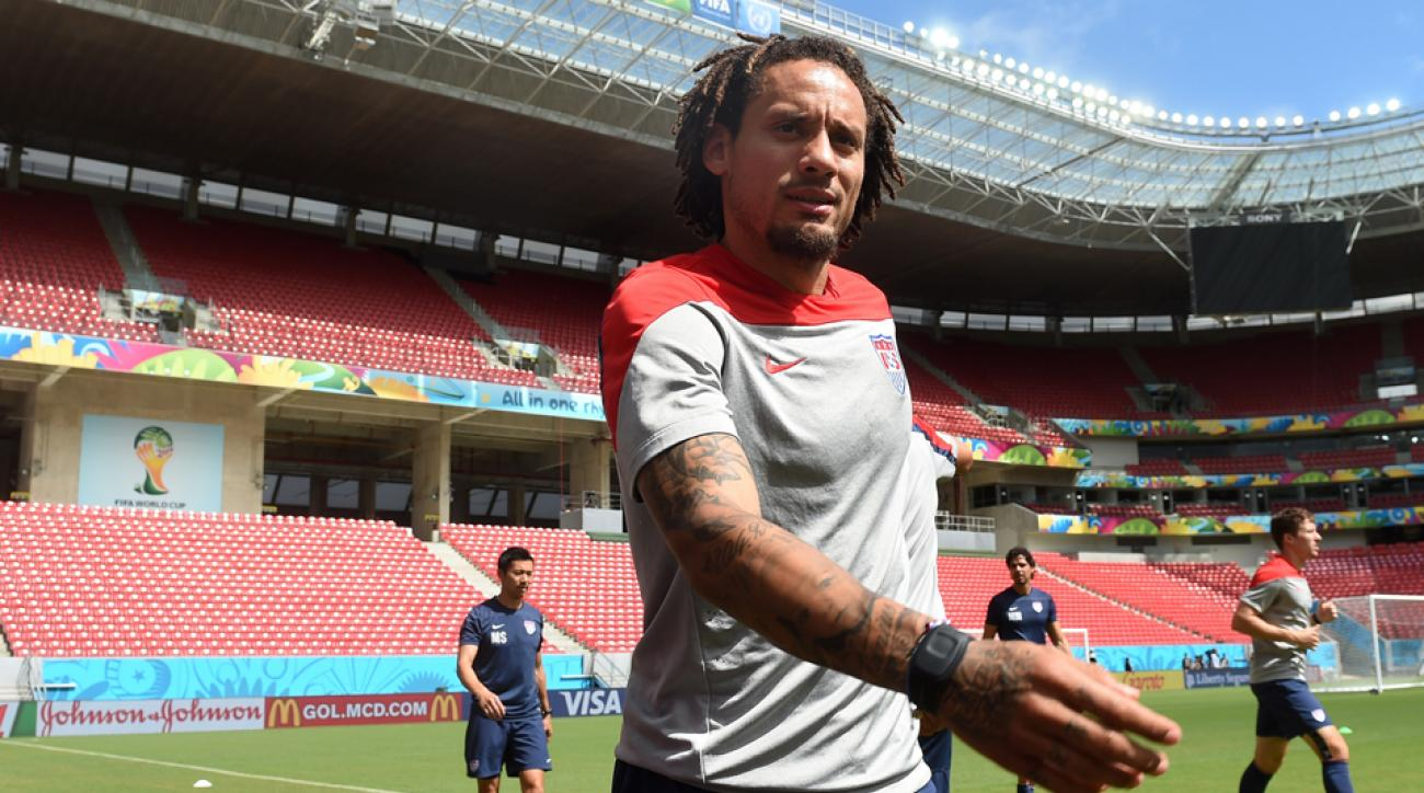 USA World Cup standout Jermaine Jones will continue his club career in MLS with the New England Revolution.