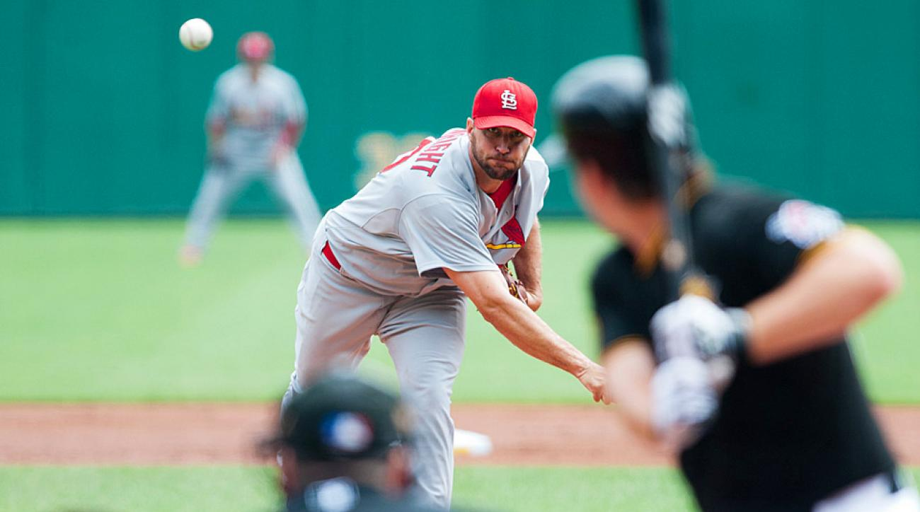 Cardinals ace Adam Wainwright has not been his usual dominant self since the All-Star Game, and may be missing catcher Yadier Molina more than he realizes.
