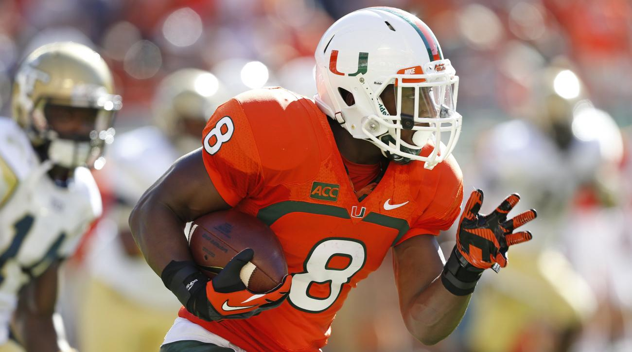 Duke Johnson ran for nearly 1,000 yards last season.
