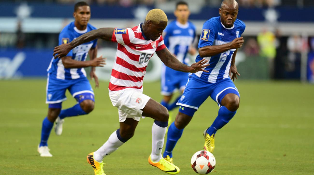 The United States last met Honduras in the 2013 Gold Cup semifinal, where the U.S. won 3-1 behind a goal from Eddie Johnson (pictured) and two from Landon Donovan.