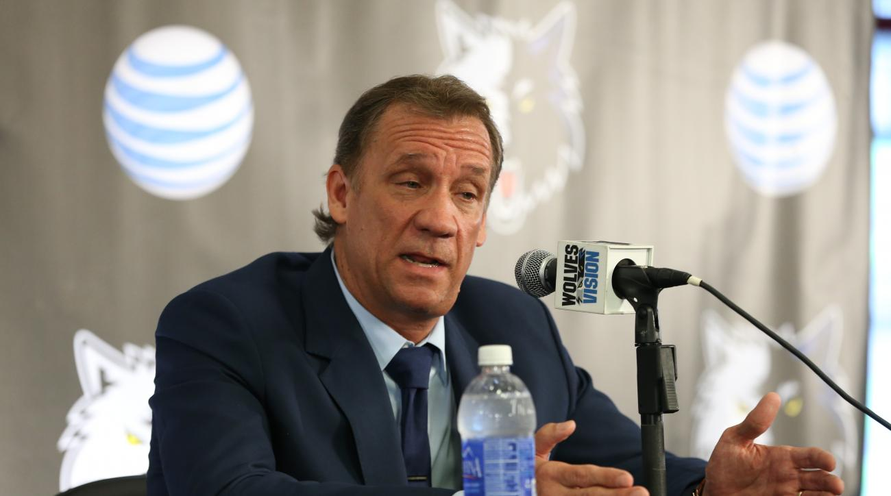 Flip Saunders is one of only a few NBA coaches who is also the team president of basketball operations.