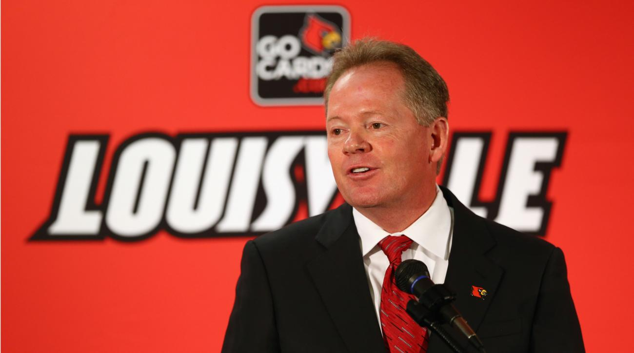 Bobby Petrino returns to Louisville as head coach.