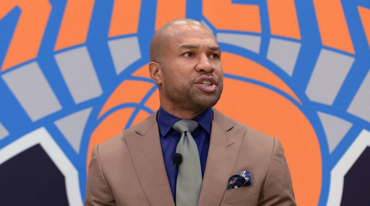 Derek Fisher will be entering his first season as head coach of the Knicks