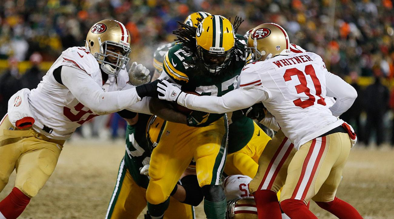 Eddie Lacy Sports Illustrated Green Bay Packers RB E...