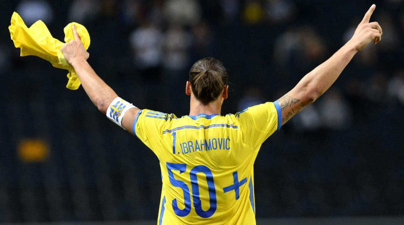 Zlatan Ibrahimovic became Sweden's all-time top scorer with his 50th international goal coming against Estonia on Thursday.