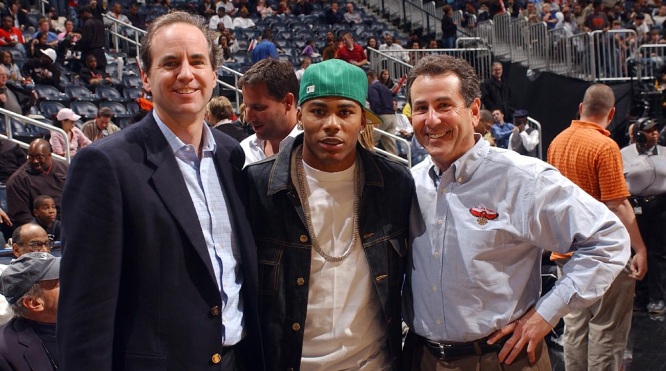 Bruce Levenson (right) has represented the Hawks at the NBA's Board of Governors since 2004.
