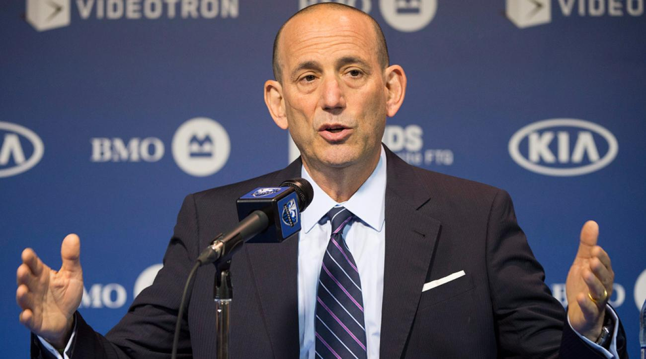MLS commissioner Don Garber has signed a deal that keeps him in charge of the league through 2018.