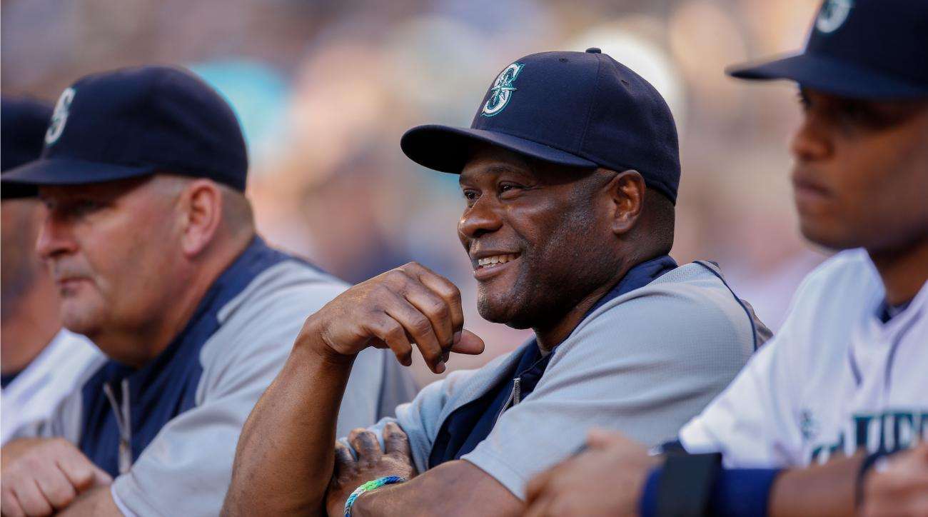 Mariners manager Lloyd McClendon