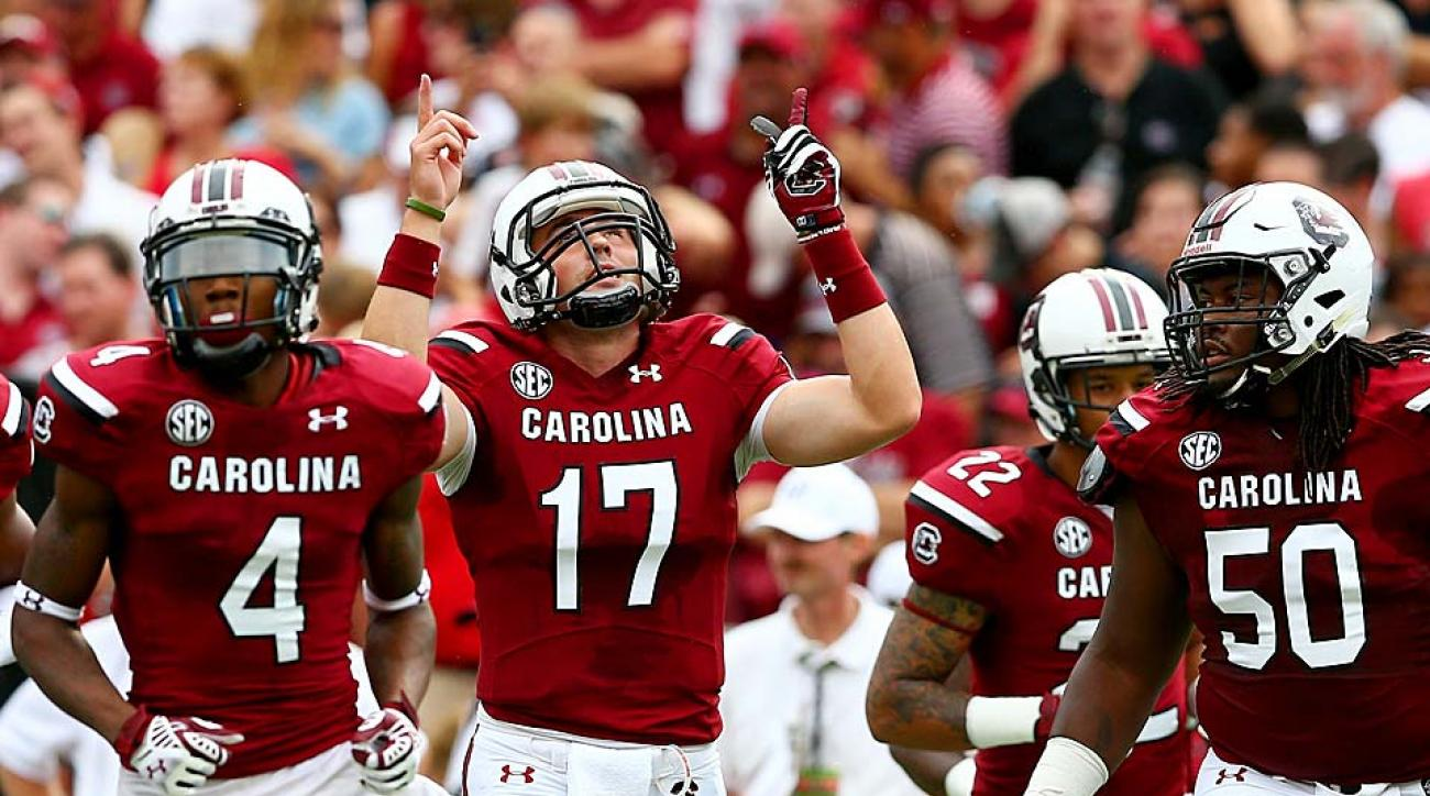 Unranked two weeks ago, South Carolina now sits at No. 14 after defeating then-No. 6 Georgia on Saturday.