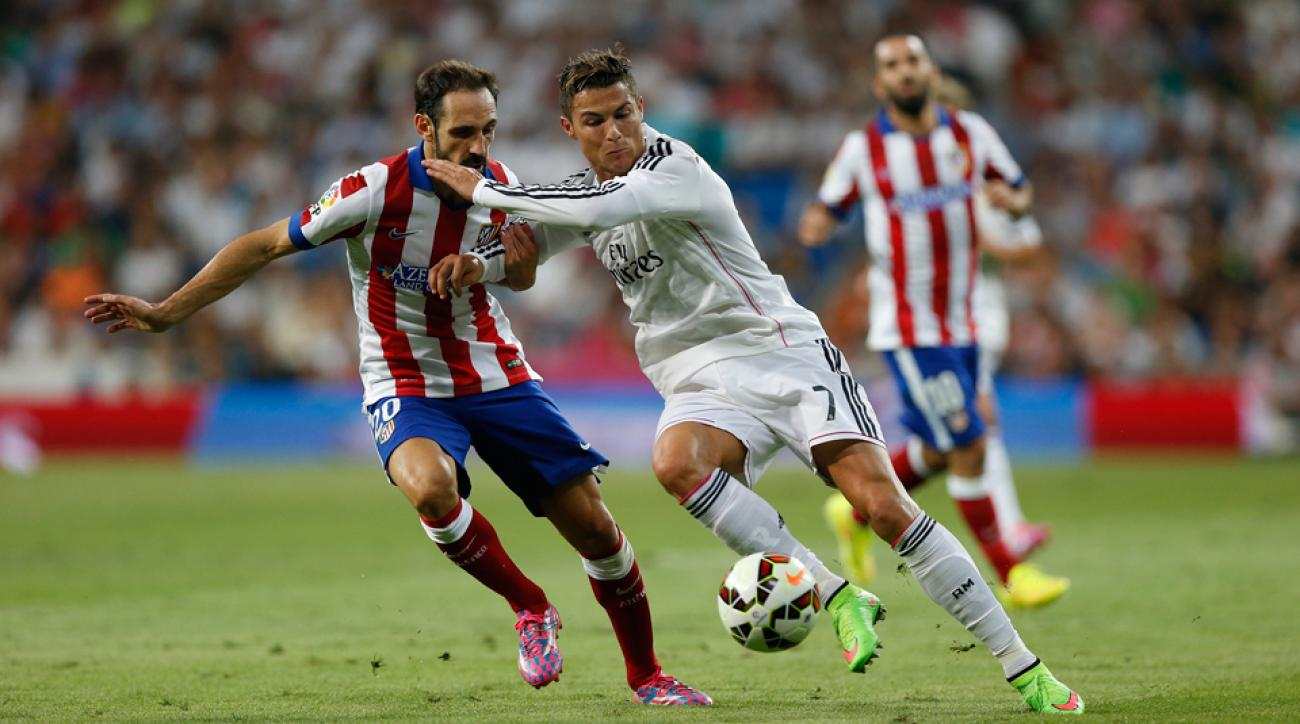 Cristiano Ronaldo (7) and Real Madrid are favored to win their Champions League group, as is city rival Atletico Madrid.