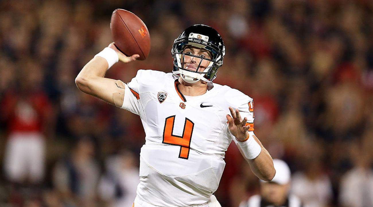 Sean Mannion had a tough end to 2013. Can he pick up the pace as Oregon State gets into the heart of its 2014 schedule?