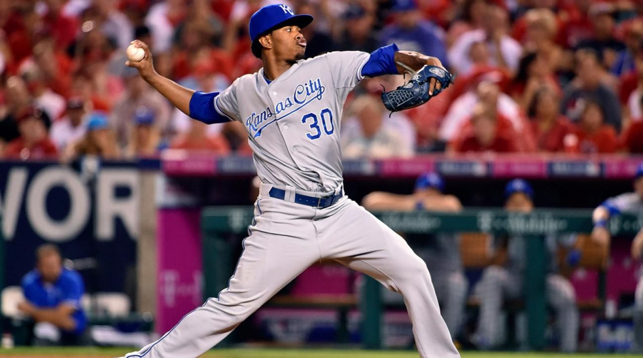 Who has the edge on the mound Royals or Orioles?