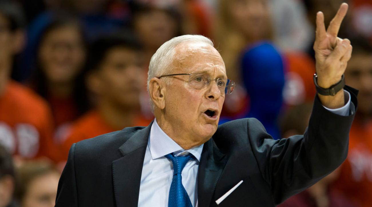 Shake Milton committed to Larry Brown (pictured) and the Mustangs