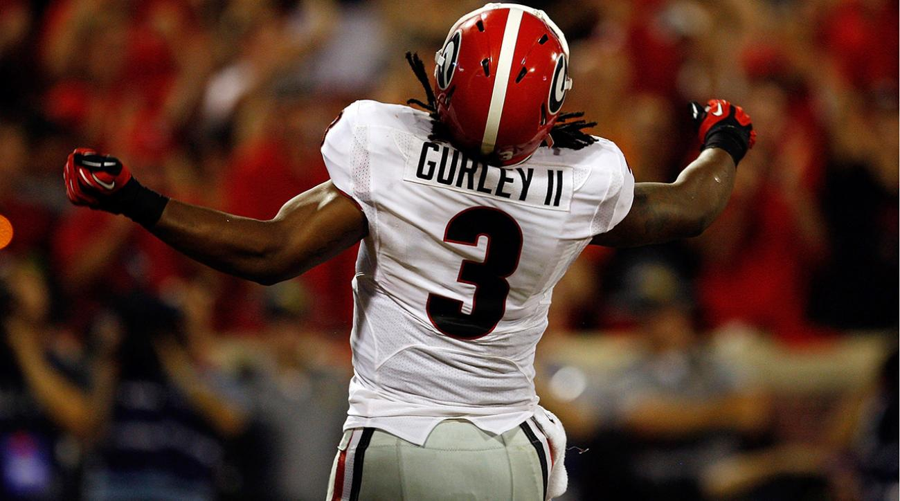 gurley will not play saturday