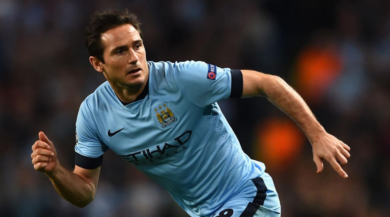 Frank Lampard could stay with Manchester City longer if NYCFC holds camp in England