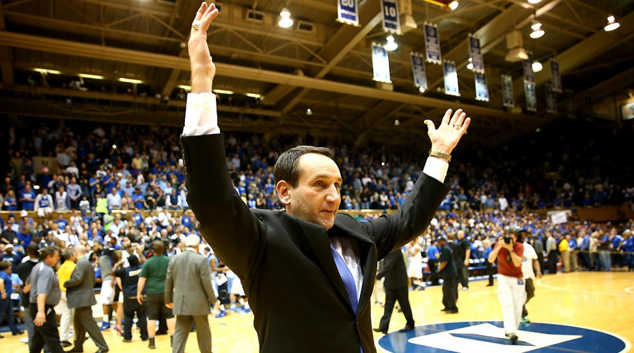 Mike Krzyzewski has fully embraced recruiting in the one-and-done era and welcomes in two more top prospects: Jahlil Okafor and Tyus Jones.