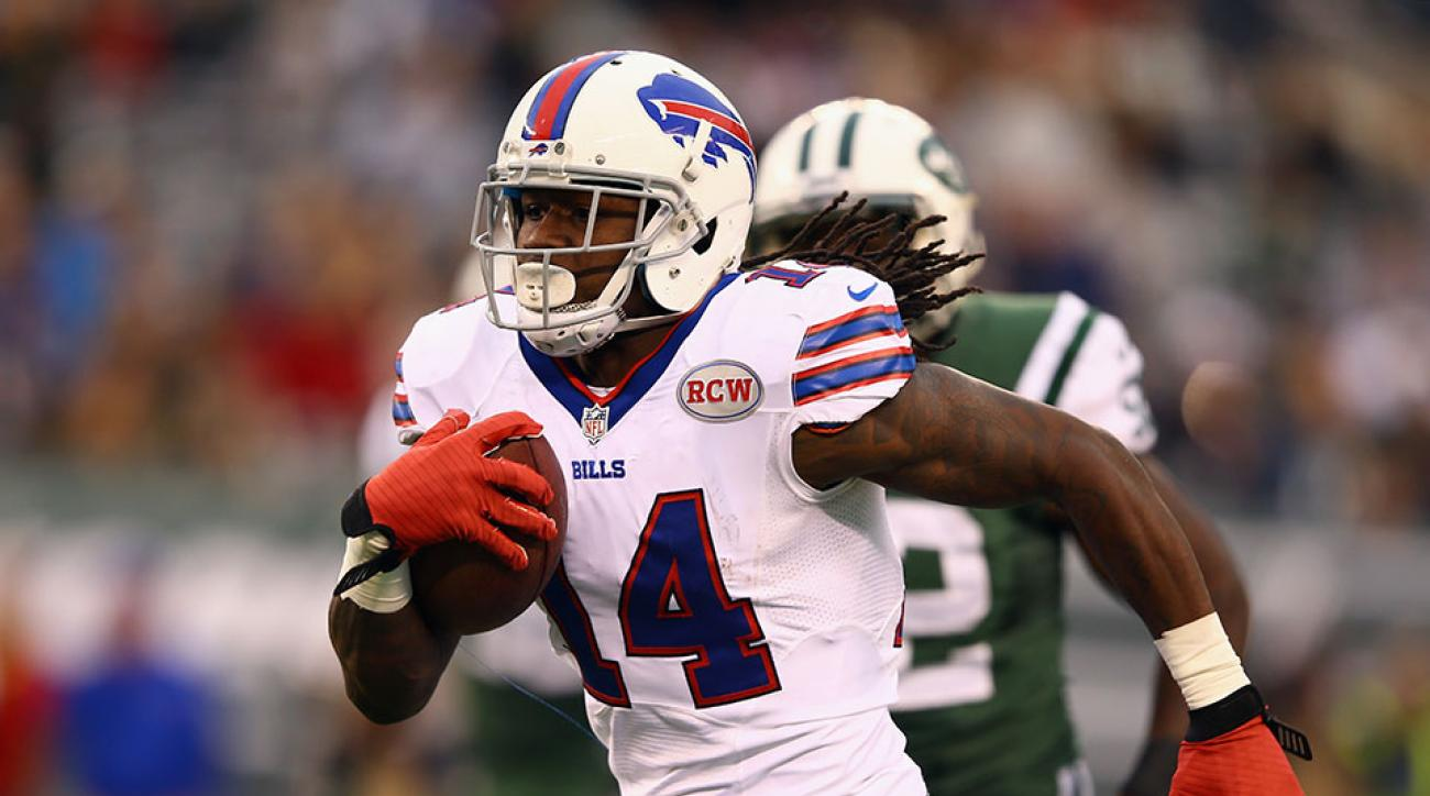 Sammy Watkins is active for the Buffalo Bills