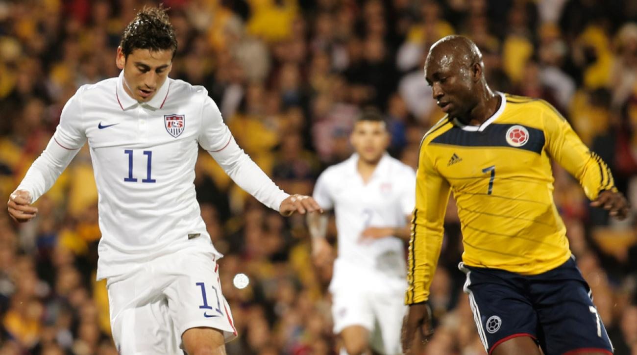 For USA midfielder Alejandro Bedoya, left, a win in Tuesday's friendly vs. Ireland is of great importance given recent results.