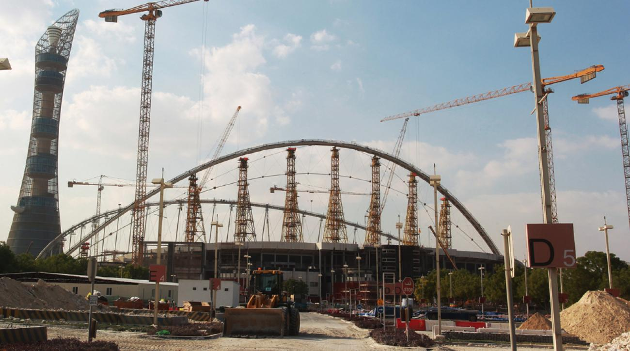 Qatar is currently building infrastructure for the 2022 World Cup.