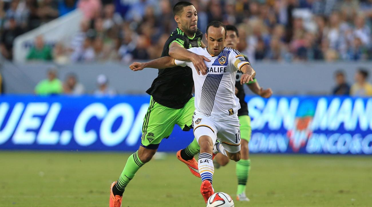 The top two goal-scorers in U.S. men's national team history, Landon Donovan and Clint Dempsey, will duel in the MLS Western Conference finals.
