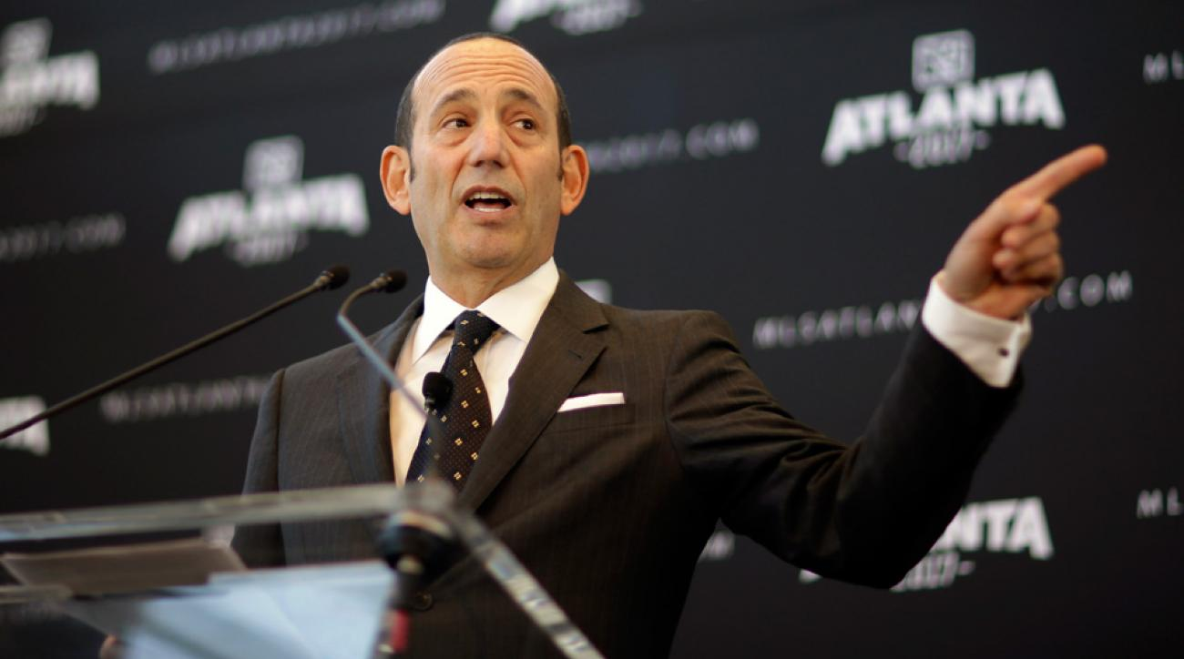 MLS commissioner Don Garber will welcome two expansion teams next season, two more in 2017 and has MLS pointed toward adding two more before 2020.